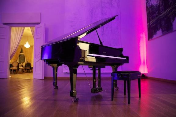 Klavier auf Hochzeit in Berlin Grunewald